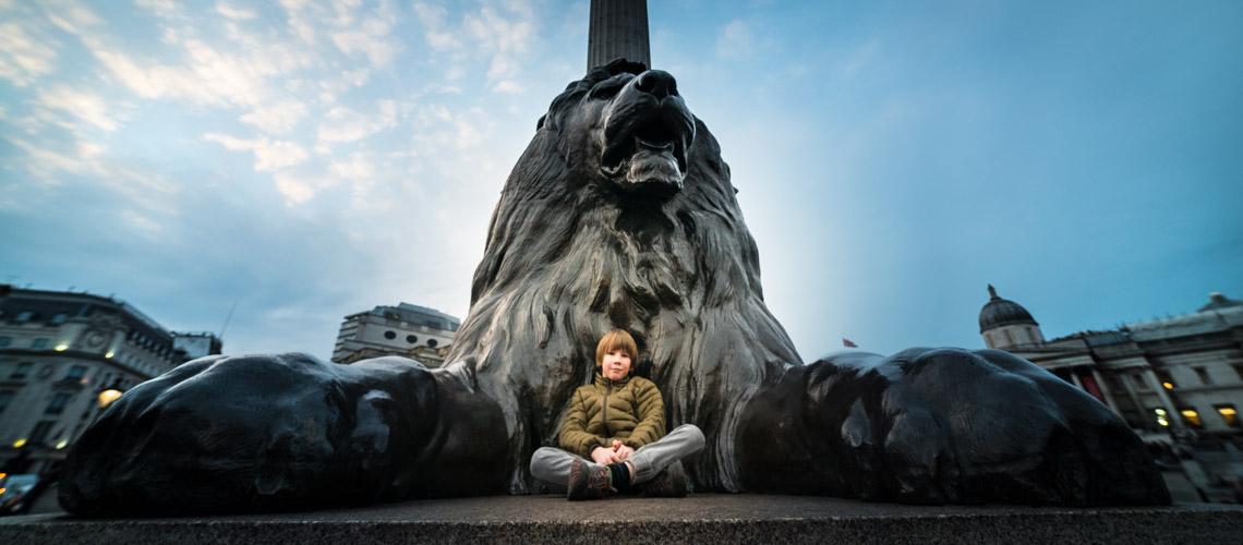 Finn in London