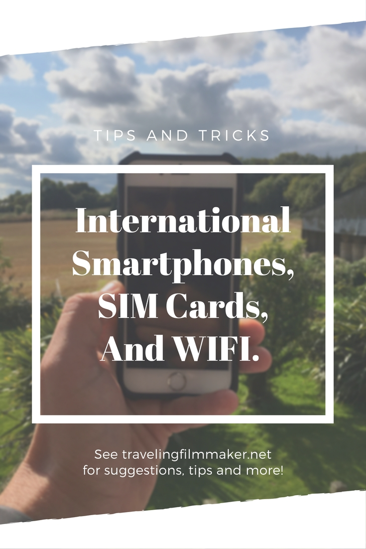 International cell phones and prepaid sim cards in Europe